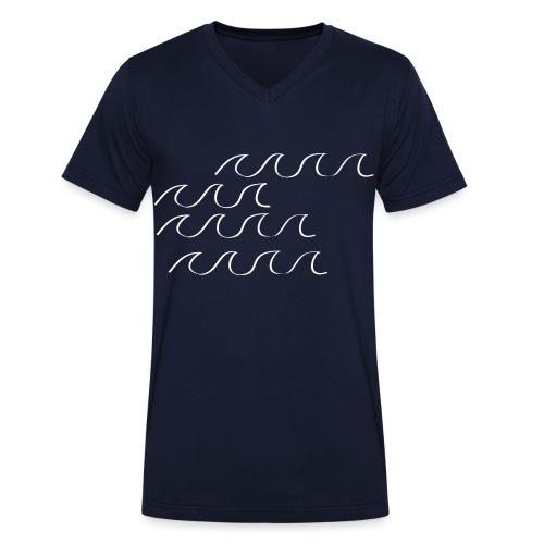 Weißwasser - Männer Bio-T-Shirt mit V-Ausschnitt von Stanley & Stella