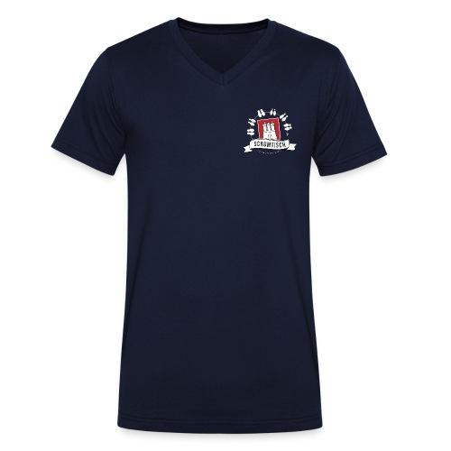 Scrumtisch Hamburg - Frauen Fan Shirt - Männer Bio-T-Shirt mit V-Ausschnitt von Stanley & Stella