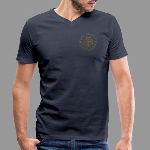 deus lo vult - Gott will es - Männer Bio-T-Shirt mit V-Ausschnitt von Stanley & Stella
