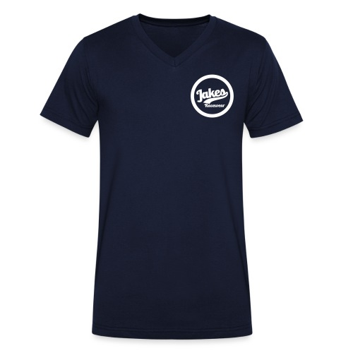 jakes Circle 2020 - Økologisk Stanley & Stella T-shirt med V-udskæring til herrer