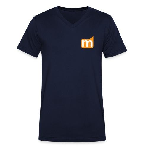 Medifit Lünen Logo - Männer Bio-T-Shirt mit V-Ausschnitt von Stanley & Stella