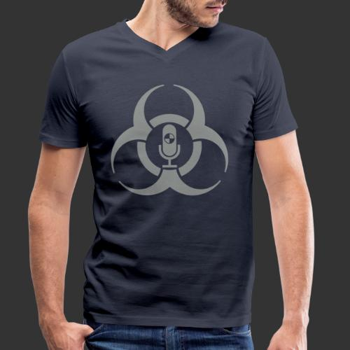 Biohazardous Podcast - T-shirt bio col V Stanley & Stella Homme