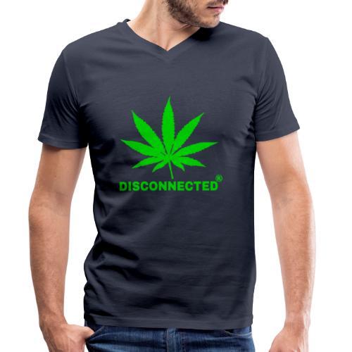 Disconnected Design - T-shirt bio col V Stanley & Stella Homme