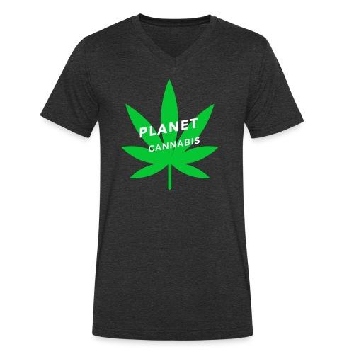 cann'abis 4 - T-shirt bio col V Stanley & Stella Homme