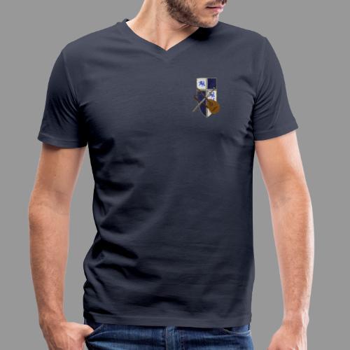 Wappenschild von ardingen - Männer Bio-T-Shirt mit V-Ausschnitt von Stanley & Stella
