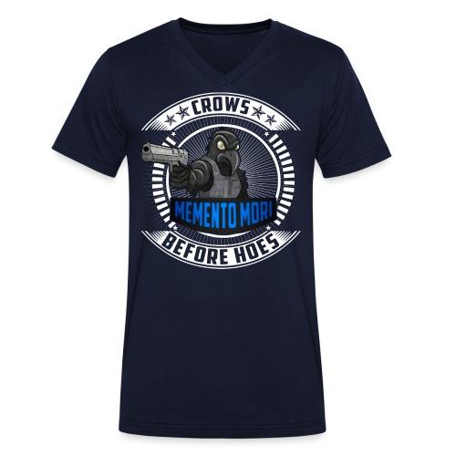 Crows Before Hoes - Männer Bio-T-Shirt mit V-Ausschnitt von Stanley & Stella