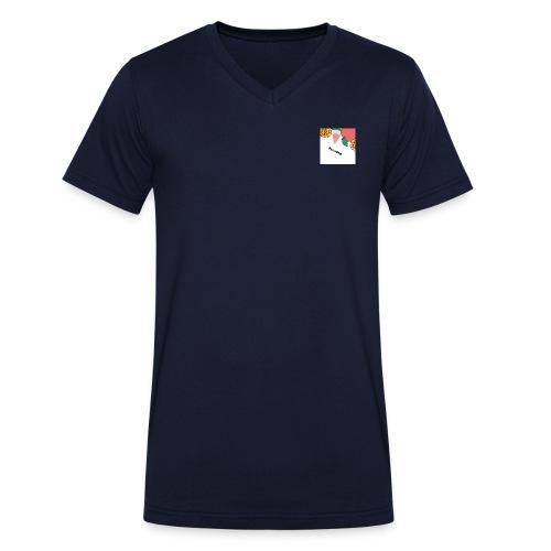 Freshling - Mannen bio T-shirt met V-hals van Stanley & Stella