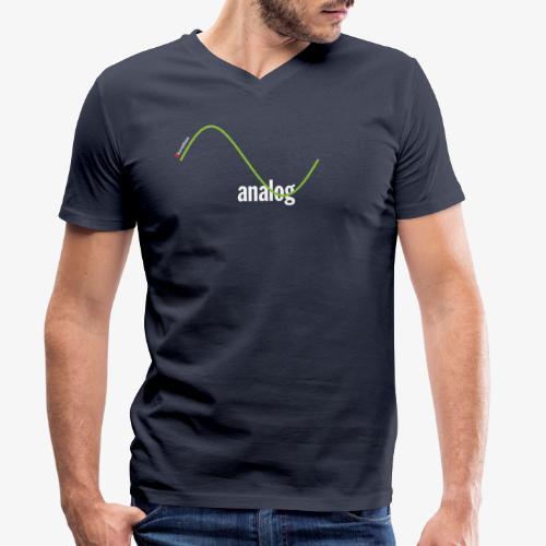 Analog - Männer Bio-T-Shirt mit V-Ausschnitt von Stanley & Stella