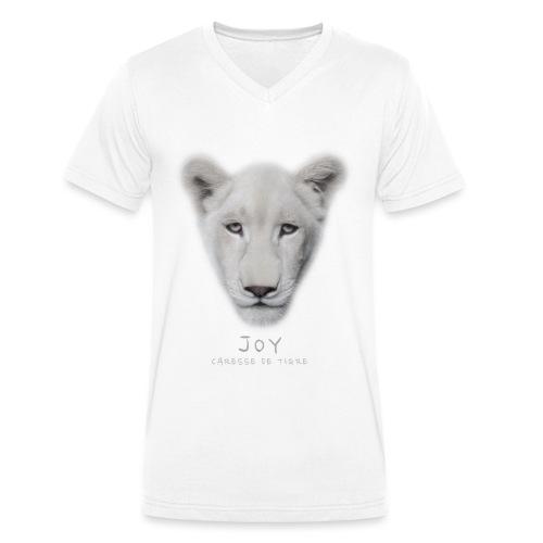 Joy portrait - T-shirt bio col V Stanley & Stella Homme