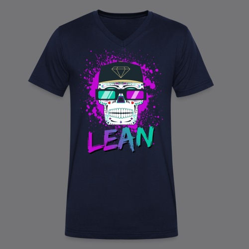 LEAN t-shirts - Men's Organic V-Neck T-Shirt by Stanley & Stella