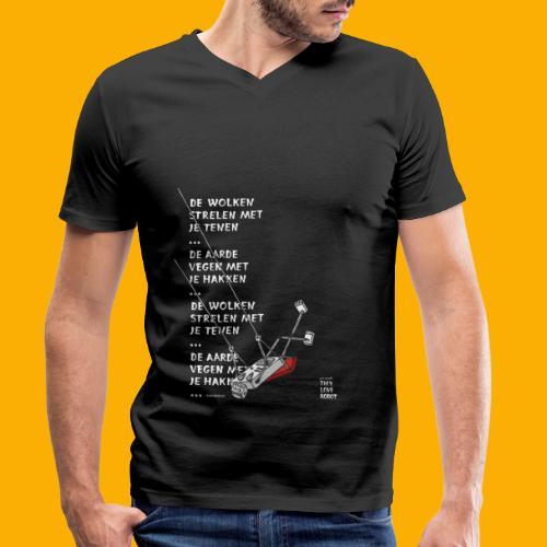 Dat Robot Schommel - Mannen bio T-shirt met V-hals van Stanley & Stella