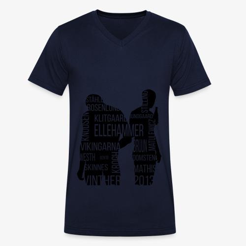 2016 Siloutte NY style - Økologisk Stanley & Stella T-shirt med V-udskæring til herrer