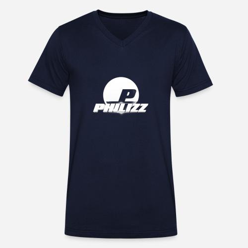Philizz 2016 Logo - Men's Organic V-Neck T-Shirt by Stanley & Stella