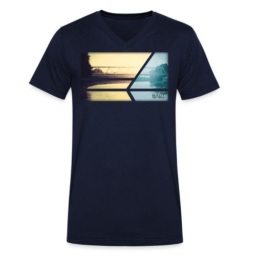 Naut 2 colours - Männer Bio-T-Shirt mit V-Ausschnitt von Stanley & Stella