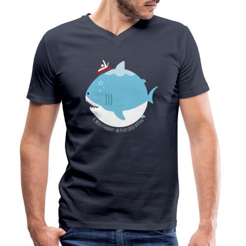 JAWS - T-shirt bio col V Stanley & Stella Homme
