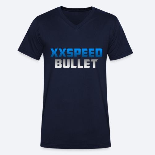 test middel png - Mannen bio T-shirt met V-hals van Stanley & Stella