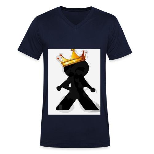 A KING WIDA - Männer Bio-T-Shirt mit V-Ausschnitt von Stanley & Stella