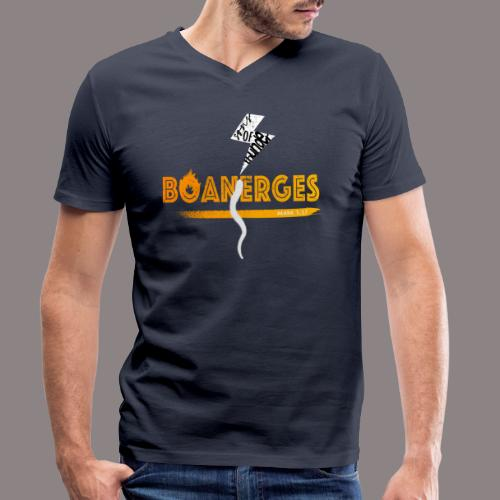Boanerges (Donnersohn) - Männer Bio-T-Shirt mit V-Ausschnitt von Stanley & Stella