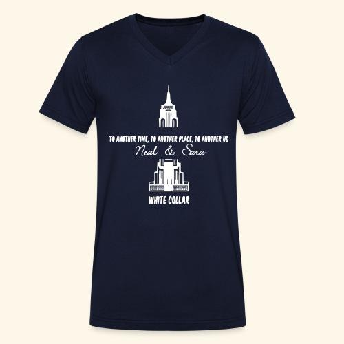 Neal Sara - Men's Organic V-Neck T-Shirt by Stanley & Stella