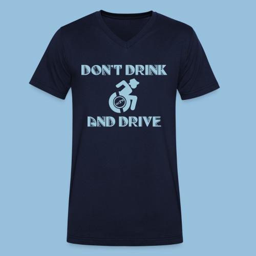 DrinkDrive3 - Mannen bio T-shirt met V-hals van Stanley & Stella