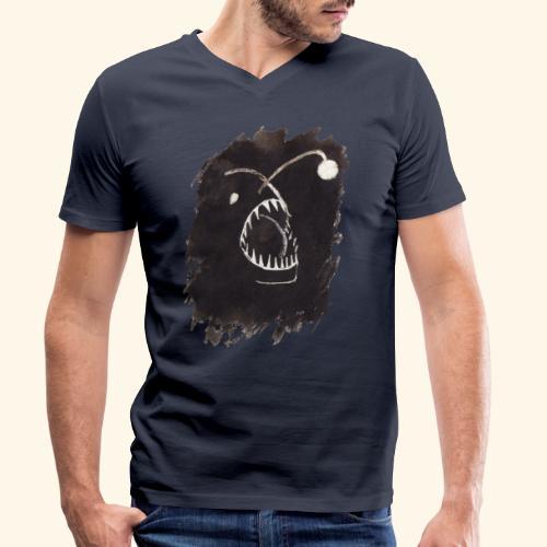 I djupet - Ekologisk T-shirt med V-ringning herr från Stanley & Stella