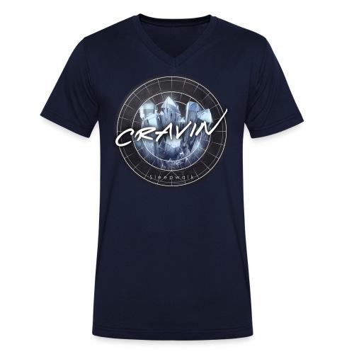 Cravin Final sleepwalk png - Men's Organic V-Neck T-Shirt by Stanley & Stella