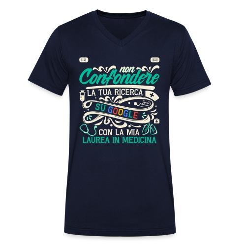 Regalo Per Laurea Medicina | Regalo Dottore - T-shirt ecologica da uomo con scollo a V di Stanley & Stella