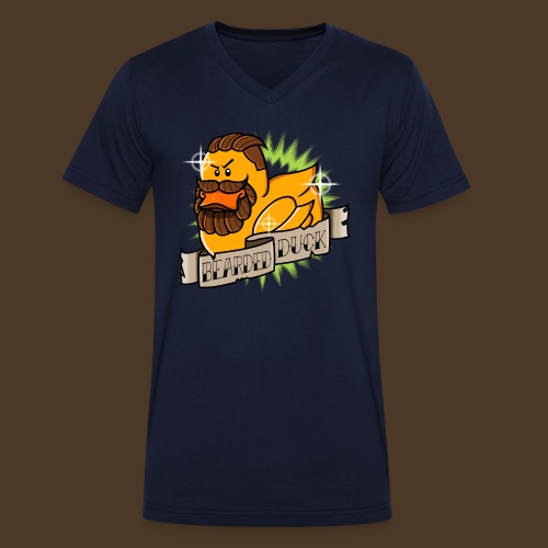 Bearded Duck - T-shirt bio col V Stanley & Stella Homme