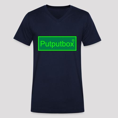 Putputbox - Men's Organic V-Neck T-Shirt by Stanley & Stella