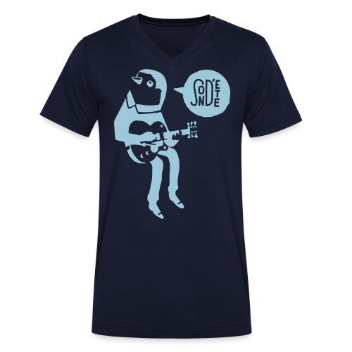 Le son d'été birdy jam 2016 (Bag) - Männer Bio-T-Shirt mit V-Ausschnitt von Stanley & Stella