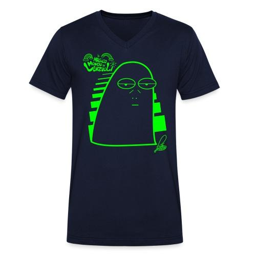Lenzuolo Pessarotta - T-shirt ecologica da uomo con scollo a V di Stanley & Stella