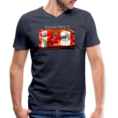 Telar Fuerza Peru I. - Männer Bio-T-Shirt mit V-Ausschnitt von Stanley & Stella