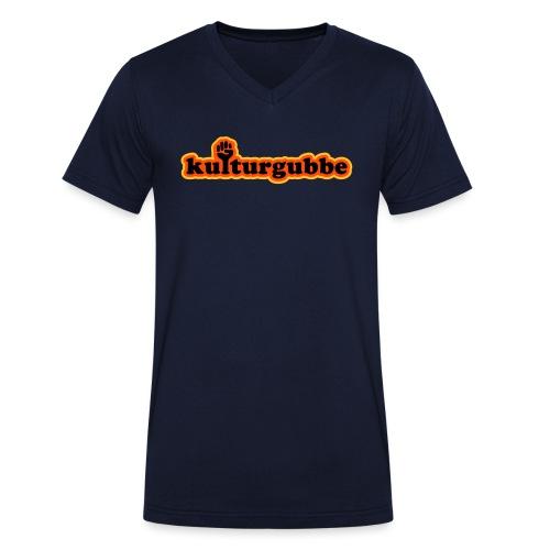 KULTURGUBBE - Ekologisk T-shirt med V-ringning herr från Stanley & Stella