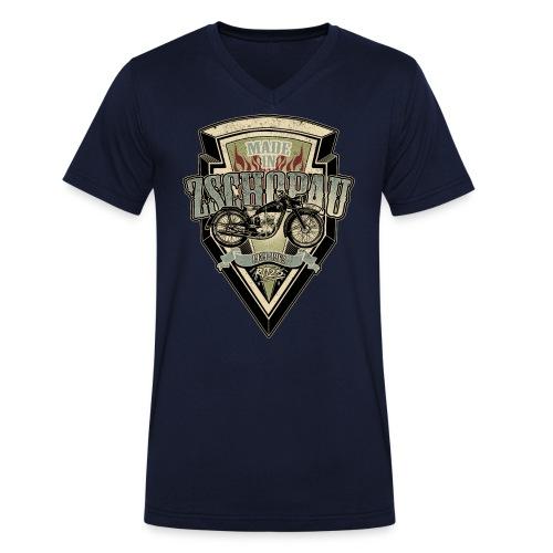 RT125 - Männer Bio-T-Shirt mit V-Ausschnitt von Stanley & Stella