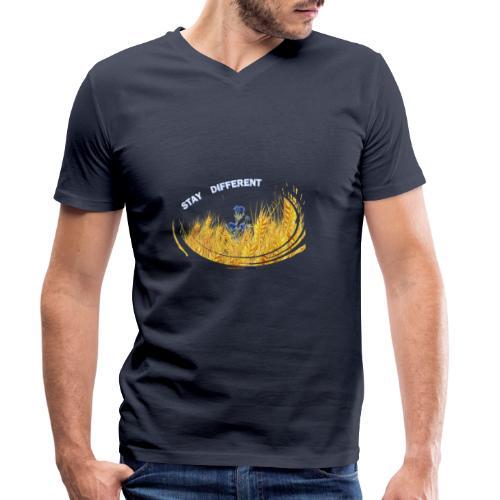 stay different - T-shirt bio col V Stanley & Stella Homme