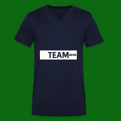 Team Glog - Men's Organic V-Neck T-Shirt by Stanley & Stella