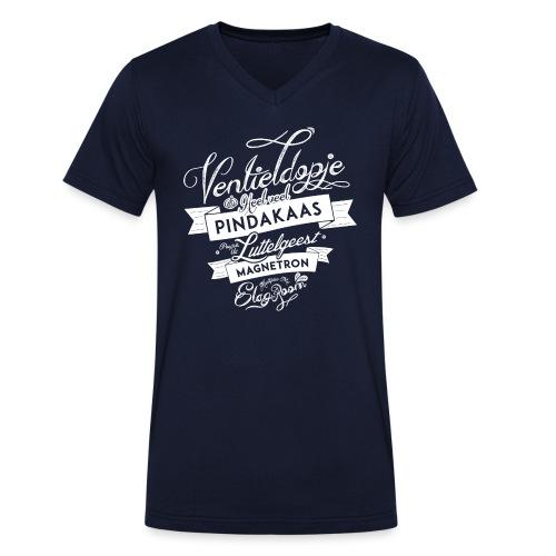 Ventieldopje - Mannen bio T-shirt met V-hals van Stanley & Stella