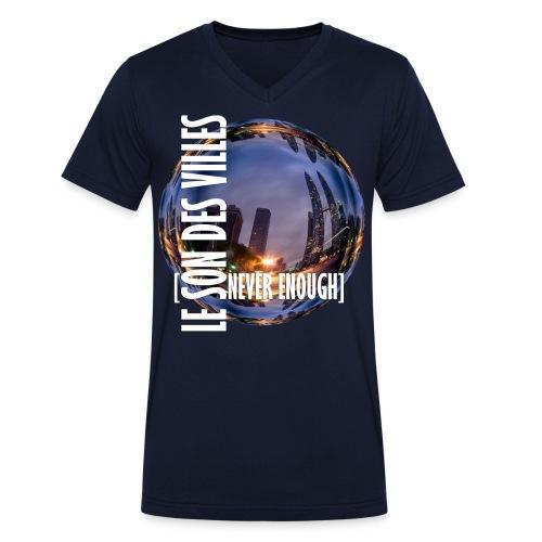 Le Son Des Villes :world - T-shirt bio col V Stanley & Stella Homme