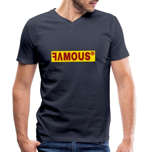 Famous v2 Design - T-shirt bio col V Stanley & Stella Homme