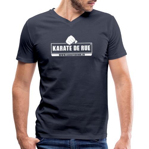 KARATE DE RUE - T-shirt bio col V Stanley & Stella Homme