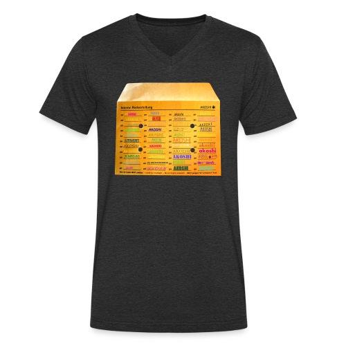 HAUSPOST - Männer Bio-T-Shirt mit V-Ausschnitt von Stanley & Stella