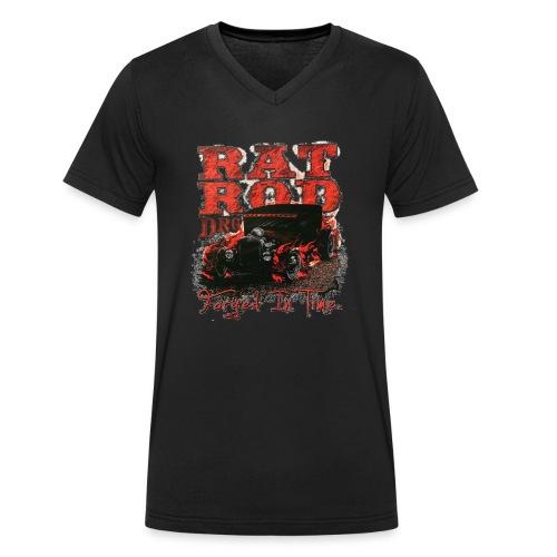 DRAGSTER WEAR - T-shirt ecologica da uomo con scollo a V di Stanley & Stella