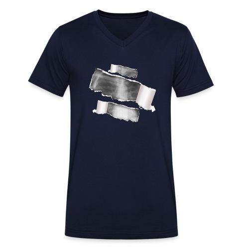 Chest X-Ray - T-shirt ecologica da uomo con scollo a V di Stanley & Stella