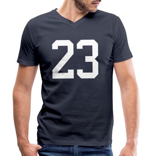 23 VISUR Stefan - Männer Bio-T-Shirt mit V-Ausschnitt von Stanley & Stella