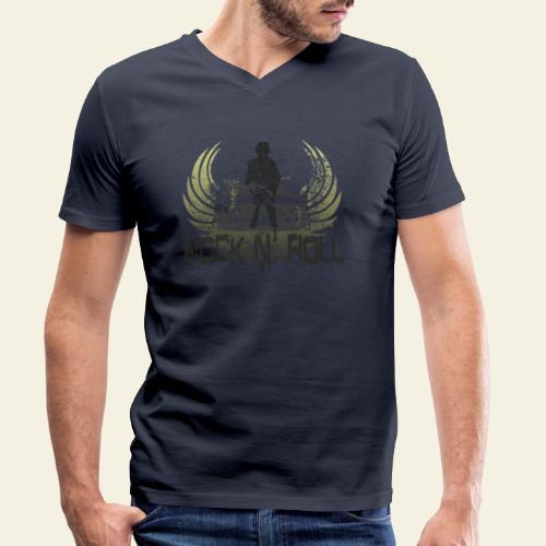 rock n roll camaro - Økologisk Stanley & Stella T-shirt med V-udskæring til herrer