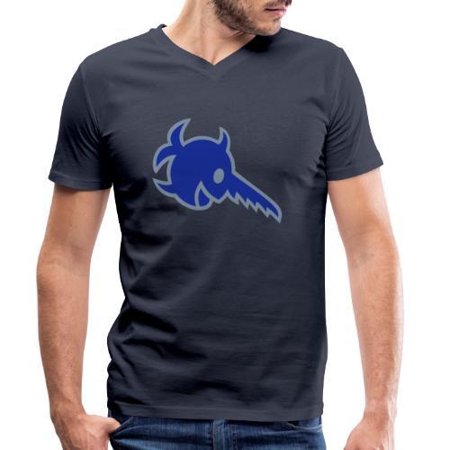 Sägefisch - Männer Bio-T-Shirt mit V-Ausschnitt von Stanley & Stella