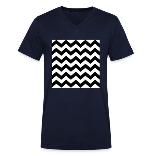 zigzag png - T-shirt bio col V Stanley & Stella Homme