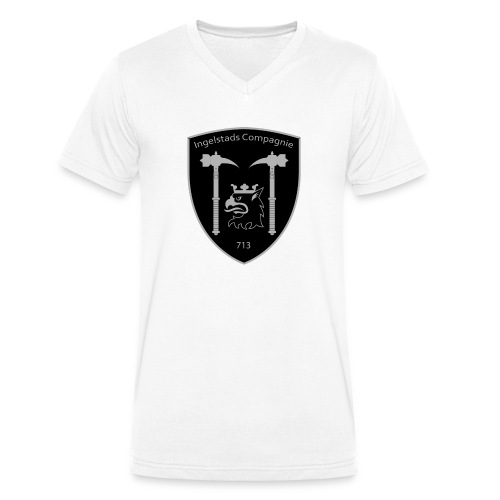 Kompanim rke 713 m nummer gray ai - Ekologisk T-shirt med V-ringning herr från Stanley & Stella