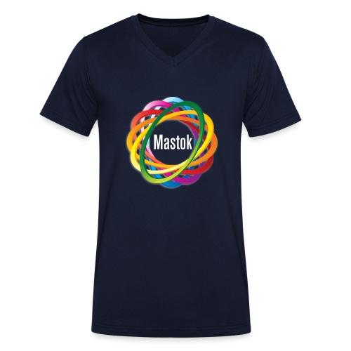 Mastok's Logo - Männer Bio-T-Shirt mit V-Ausschnitt von Stanley & Stella