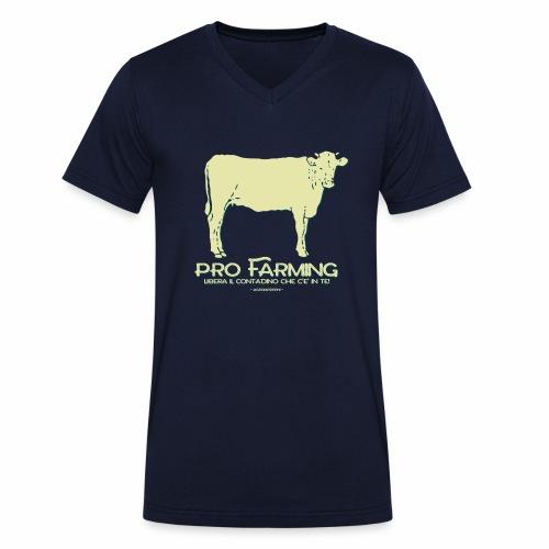PRO Farming - T-shirt ecologica da uomo con scollo a V di Stanley & Stella
